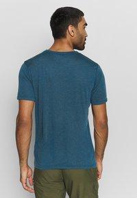 Vaude - ME PICTON - Print T-shirt - baltic uni - 2
