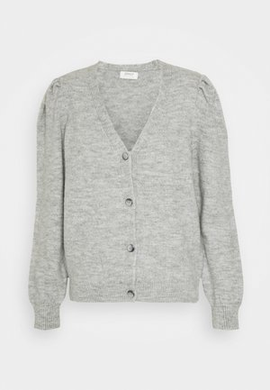 ONLTESS  VNECK  - Cardigan - light grey melange