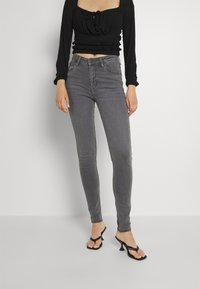 Lee - SCARLETT HIGH - Jeans Skinny - grey holly - 0