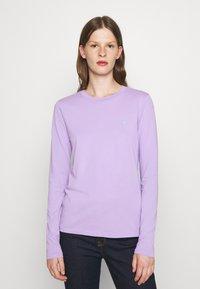 Polo Ralph Lauren - TEE LONG SLEEVE - Long sleeved top - cruise lavendar - 0