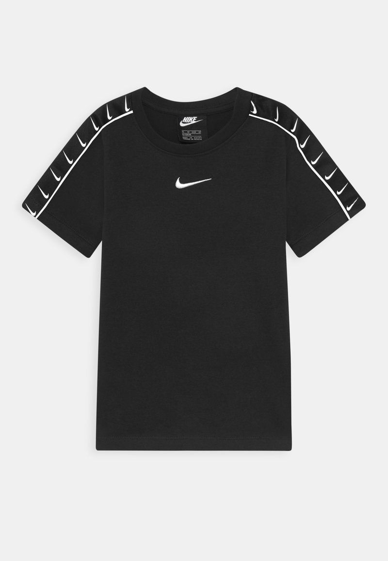Nike Sportswear - TEE TAPE - Camiseta estampada - black/white