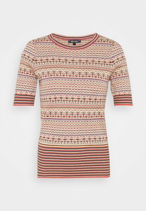 AGNES HACIENDA - Print T-shirt - chili red