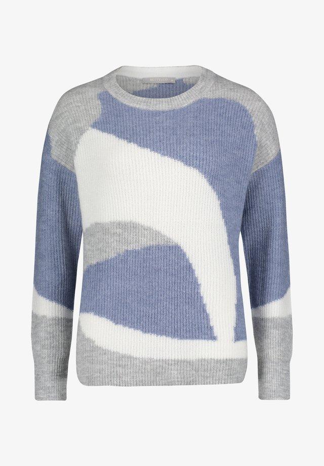 MIT MUSTER - Jumper - grey blue