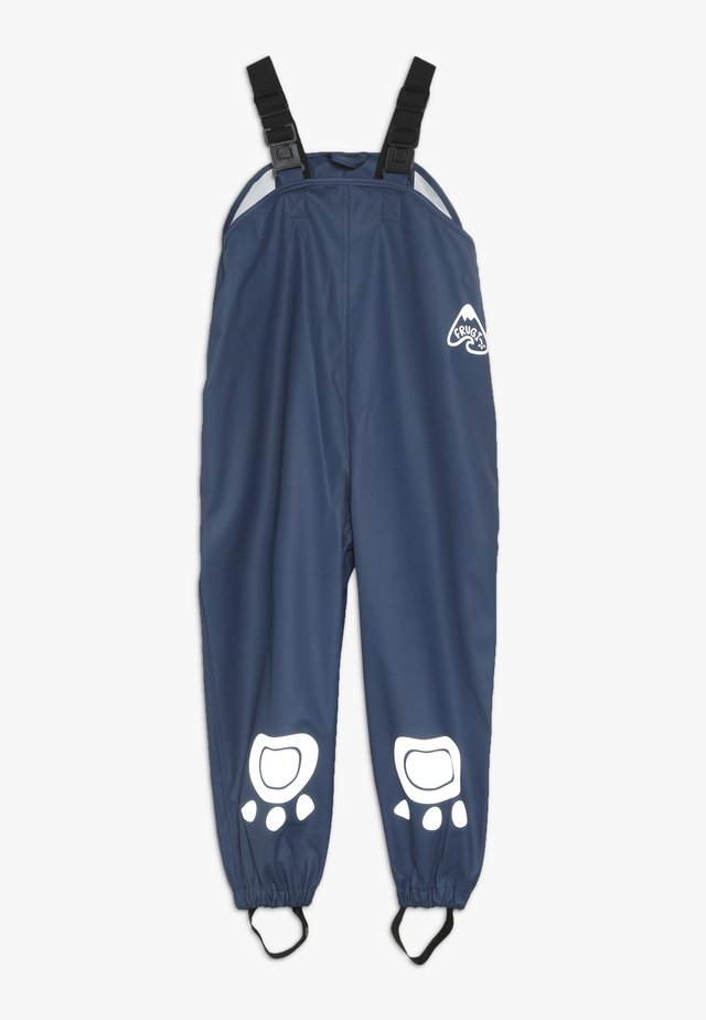 RECYCLED FABRIC WATERPROOF TROUSERS 3000HH - Pantalones impermeables - space blue