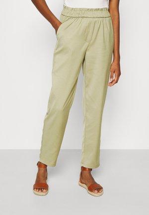 ONLNORAH FRILL PANT - Trousers - slate green