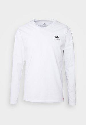 BACK PRINT HEAVY - Pitkähihainen paita - white