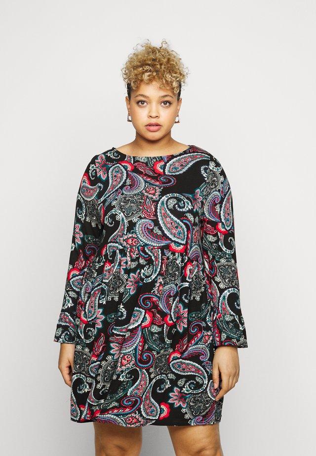 PAISLEY PRINT DRESS - Žerzejové šaty - multi