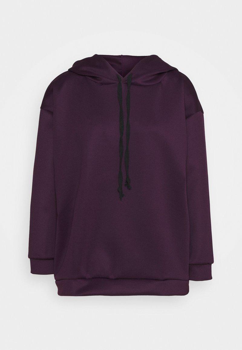 Trendyol - Hoodie - plum