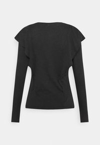 ONLY - ONLLUCILLA LIFE FRILL - Long sleeved top - black - 1