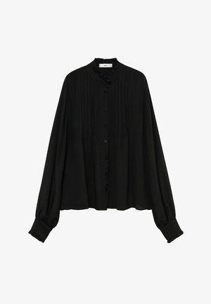 CACHITO - Button-down blouse - černá
