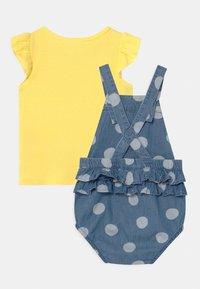 Carter's - CHAMBRAY SET - T-shirt imprimé - blue/yellow - 1