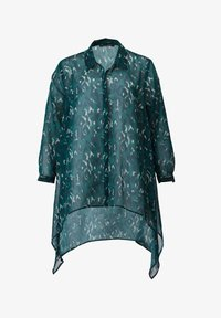 Sara Lindholm by HAPPYsize - Button-down blouse - petrol - 1