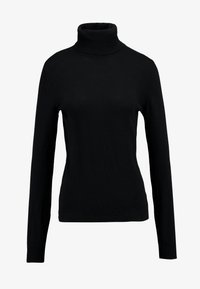 Benetton - TURTLE NECK - Jumper - black - 4