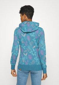 Ragwear - PAYA FLOWERS - Hettejakke - blue - 2