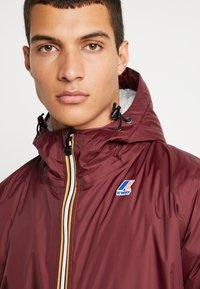 K-Way - UNISEX CLAUDE ORESETTO - Light jacket - red amaranto - 4