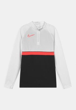 ACADEMY DRILL UNISEX - Camiseta de deporte - black/bright crimson