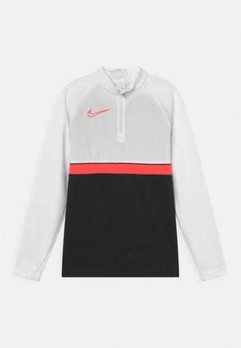 ACADEMY DRIL UNISEX - Sportshirt - black/bright crimson