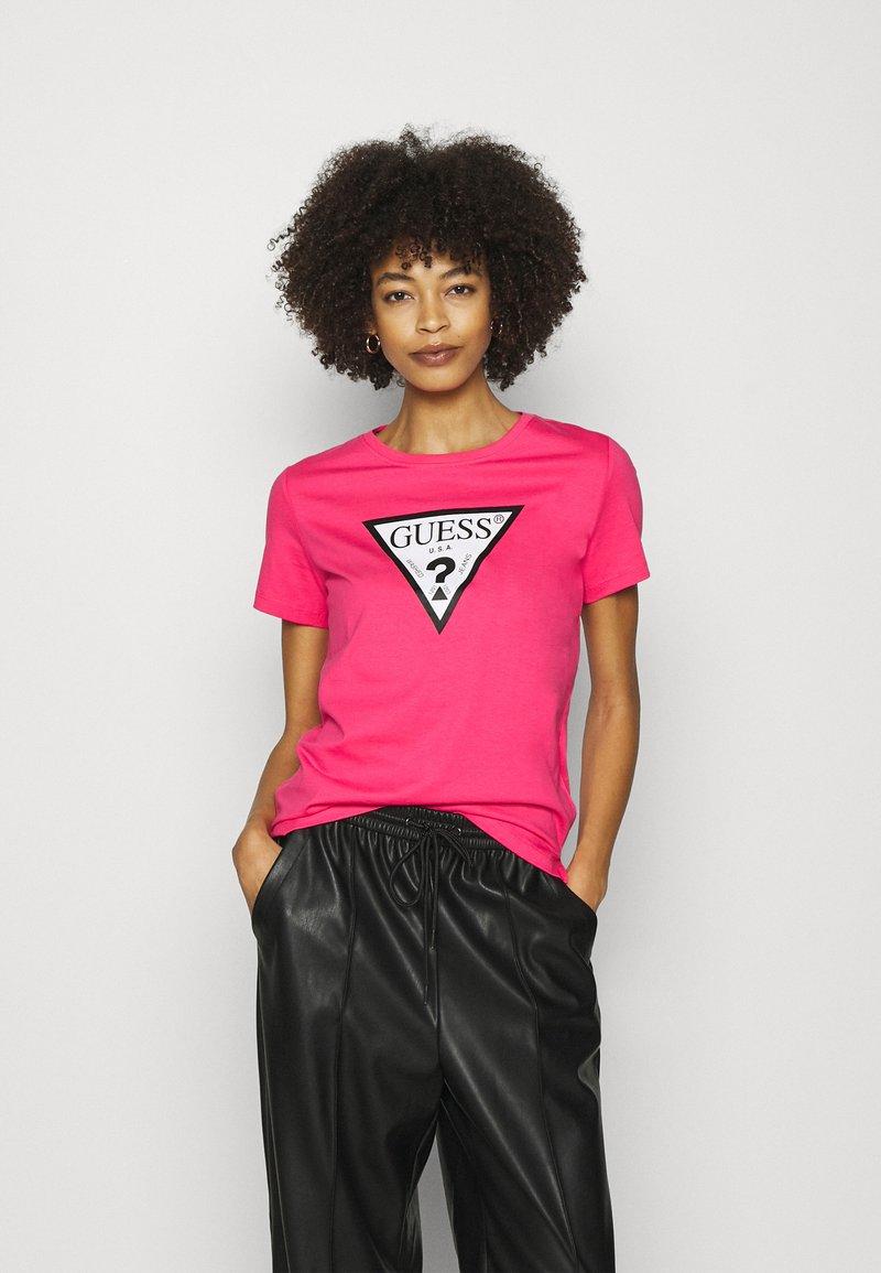 Guess - ORIGINAL TEE - T-shirt print - girly pink