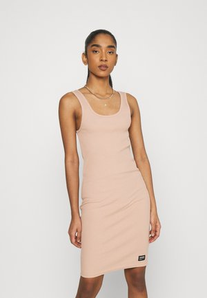 NADJA DRESS - Jersey dress - warm clay