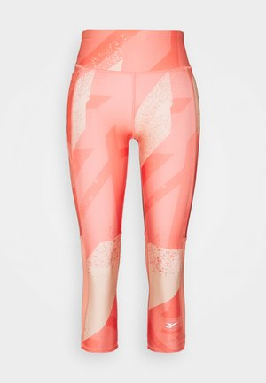 Leggings - twisted coral