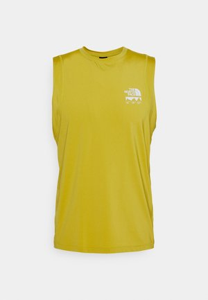 GLACIER TANK - Top - citronellegreen
