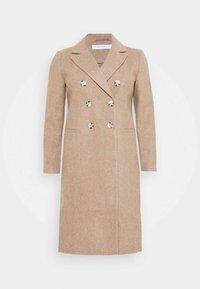Glamorous Curve - DOUBLE BREASTED - Classic coat - oatmeal - 0