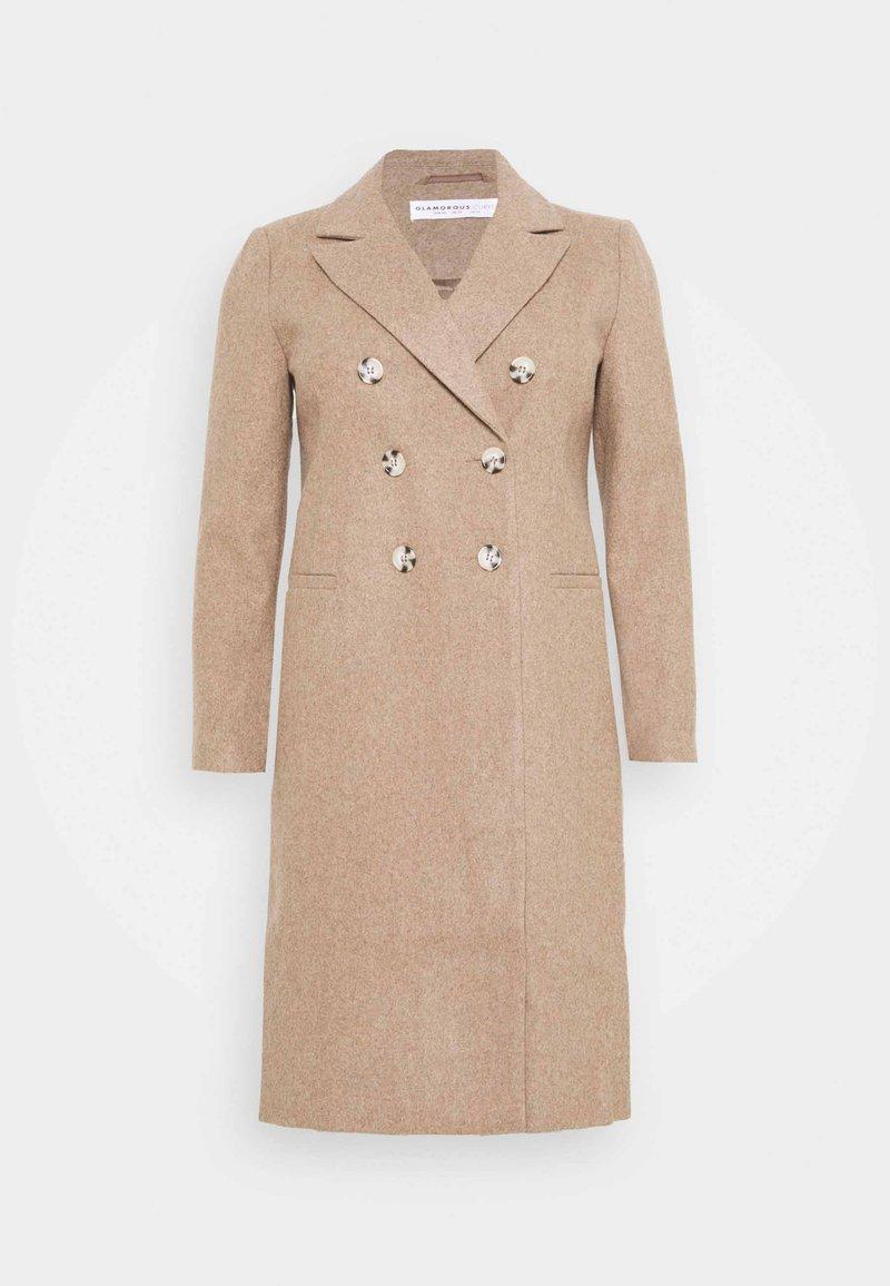 Glamorous Curve - DOUBLE BREASTED - Classic coat - oatmeal