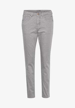 Slim fit jeans - ethnic silver sponce