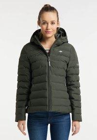 Schmuddelwedda - Zimní bunda - dunkeloliv - 0