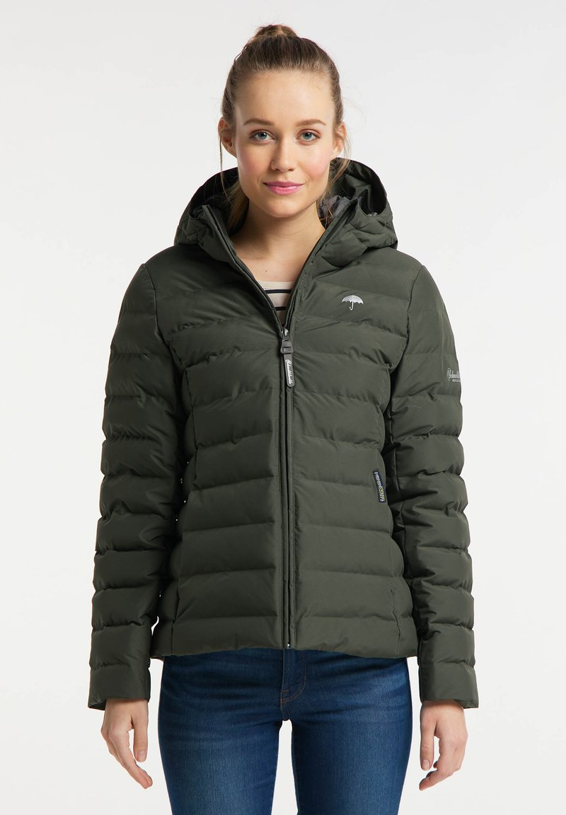 Schmuddelwedda - Zimní bunda - dunkeloliv