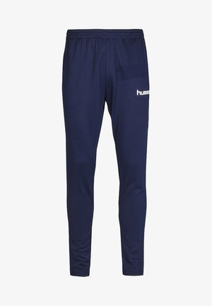 CORE FOOTBALL PANT - Tracksuit bottoms - navy