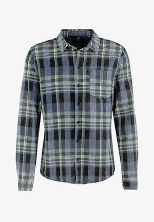 NEEO - Shirt - vintage grey/vintage lime green