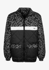 UNFAIR ATHLETICS - DMWU PUFFER - Light jacket - zebra camo - 0