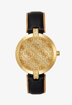 LADIES - Uhr - black/gold-coloured