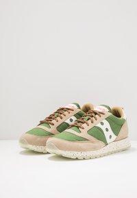 Saucony - JAZZ ORIGINAL OUTDOOR - Sneaker low - brown/green - 2