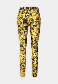 Versace Jeans Couture - LADY FUSEAUX - Legging - black - 7