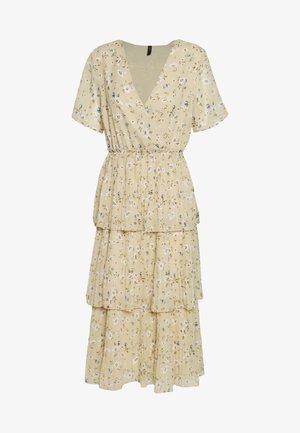 YASFLORIA LONG DRESS - Kjole - oatmeal