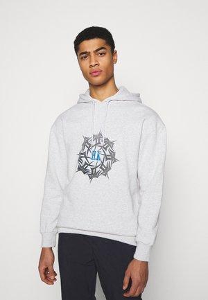 ARTWORK HOODIE - Sweatshirt - grey melange