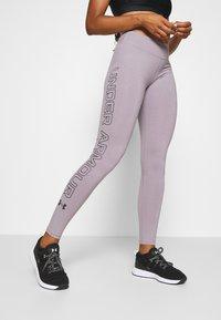 Under Armour - FAVORITE LEGGINGS - Collants - slate purple - 0