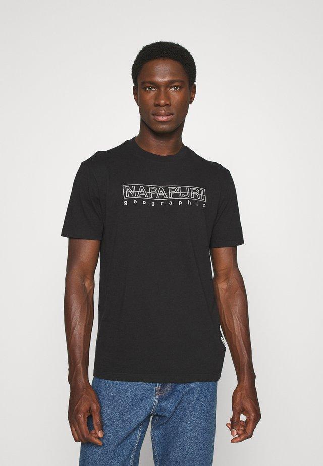 SEBEL  - T-shirt con stampa - black