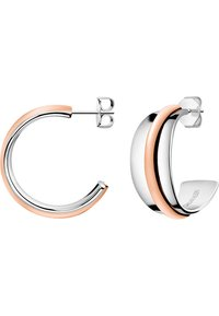Calvin Klein - CALVIN KLEIN DAMEN-CREOLE SLINKY EDELSTAHL - Earrings - bicolor - 0