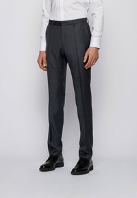 BOSS - Suit trousers - dark grey - 0