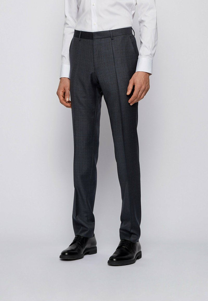 BOSS - Suit trousers - dark grey