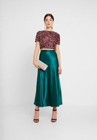 Lace & Beads - LETTY - Bluser - burgundy - 1