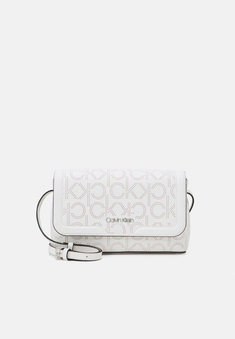 Calvin Klein - FLAP XBODY - Across body bag - white