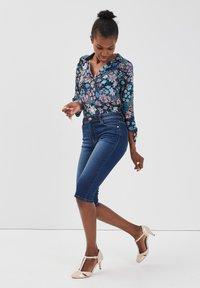 Cache Cache - Denim shorts - stone blue denim - 1
