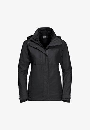 ECHO PASS WOMEN - Hardshell jacket - black