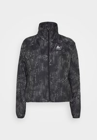 ODLO - JACKET ZEROWEIGHT PRINT - Sports jacket - black - 3