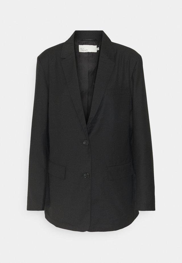 OVERSIZED BLAZER - Blazer - black