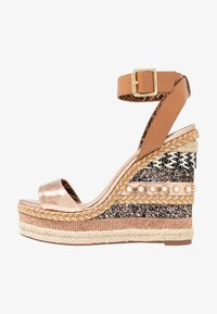 River Island - High heeled sandals - brown - 1